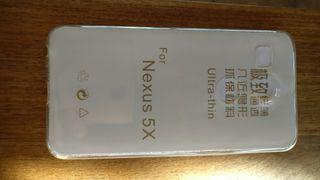Funda Nexus 5X silicona