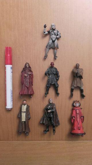 Figuras de Plomo Star Wars