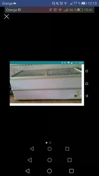 congelador de tienda