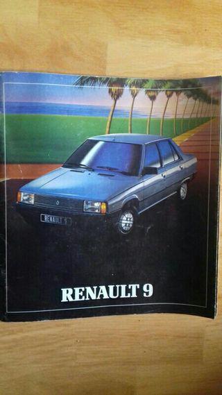 Antigua revista Renault 9