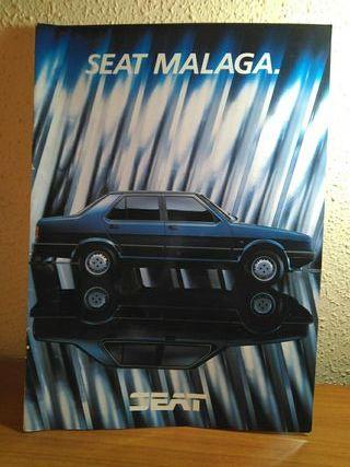 revista antigua seat malaga