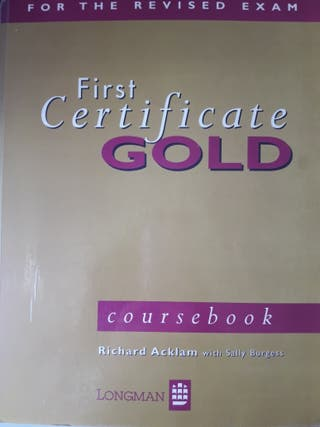 Libro First certificate
