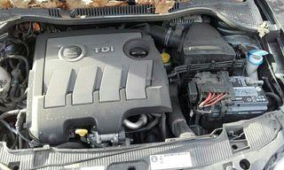 MOTOR SEAT IBIZA 1.6 TDI 90CV 2015