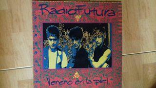 disco de vinilo de radio futura
