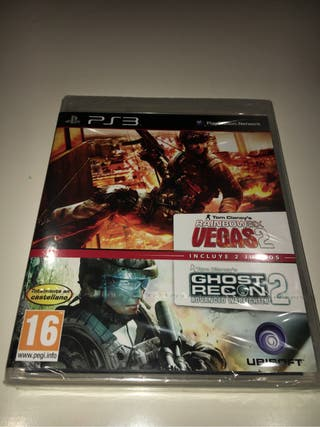 Rainbow Six Vegas y Ghost Recon 2 PS3 nuevos!