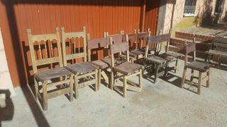 sillas castellana antigua