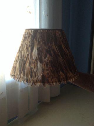 Pantalla de lampara