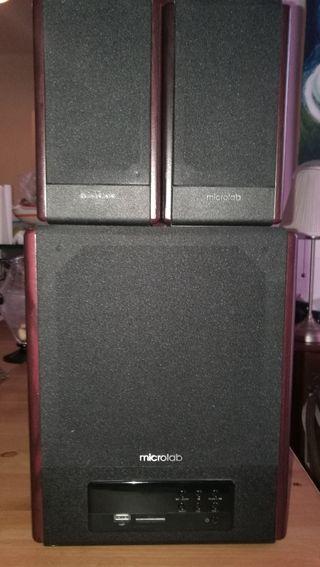Altavoces 2.1 HI-FI Microlab