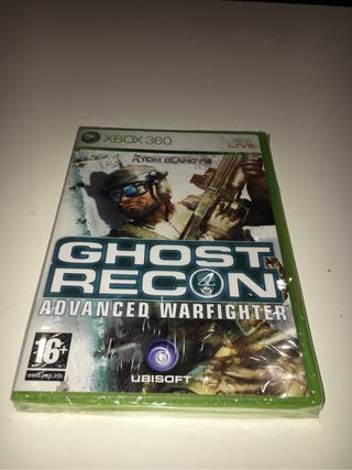 Ghost Recon Advance Warfighter XBOX 360 nuevo!!!!!