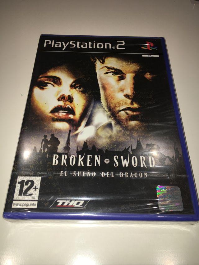 Broken Sword el Sueño del dragón PS2 español nuevo