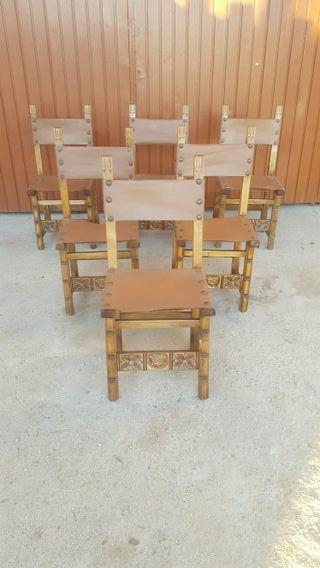 sillas castellana antiguas