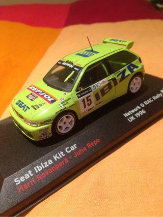 seat ibiza 1996 Kit car de rally color verde