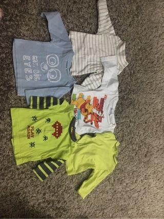 Camisetas bebe 3meses