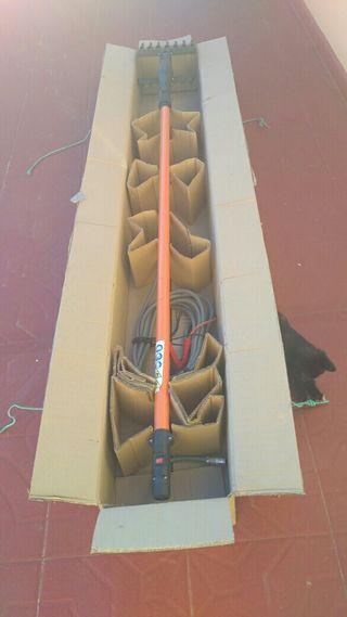 vareadora electrica de aceitunas