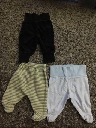 Pantalones bebe 1 mes