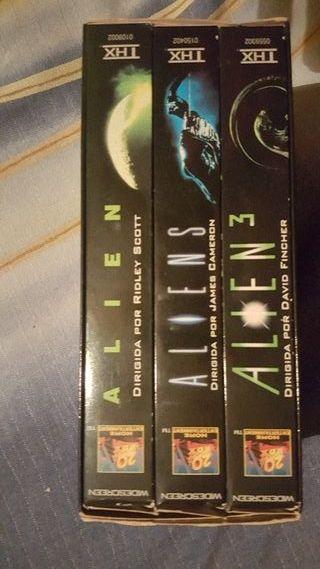 Alien I II y III