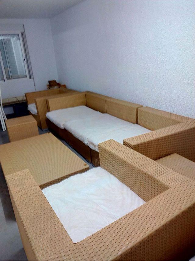 Conjunto Muebles Terraza Ratan
