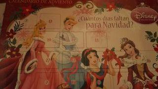 8 calendarios con joyas de princesas NUEVOS