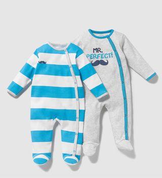 Dos pijamas para bebé alta calidad El Corte Inglés
