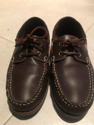 Nauticos zapatos hombre piel
