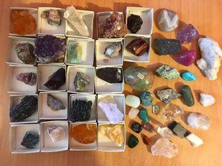 Colección de minerales