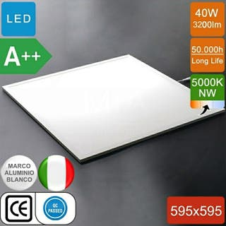 paneles led 40w 60x60cm 4000k y 5000k