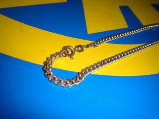 cadena plata de ley 25 cm. buen estado