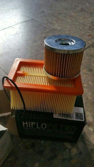 filtro aire y aceite bmw f650gs monocilindrica