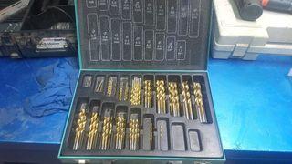 maletin de brocas metal