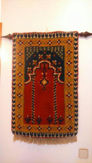 tapiz de lana vintage antiguedades