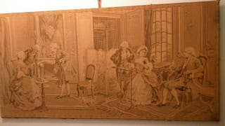 tapiz vintage antiguedades