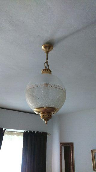 Lámpara vintage antiguedades