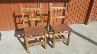 sillas castellanas antiguas