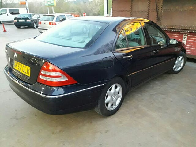 Mercedes-Benz Clase C Elegance 2002