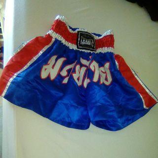 2 pantalones boxeo