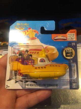 Hot wheels yellow submarine