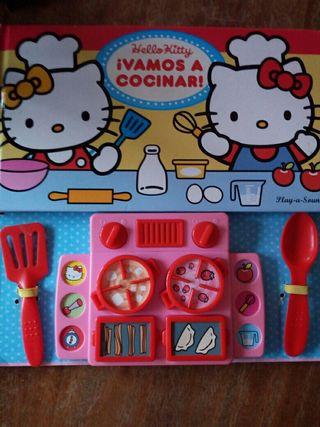 Libro Hello Kitty muy cuqui