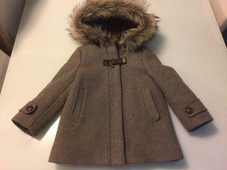Abrigo vestir nina