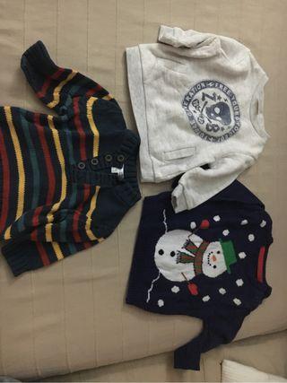 Jerseys bebe 3-6 meses