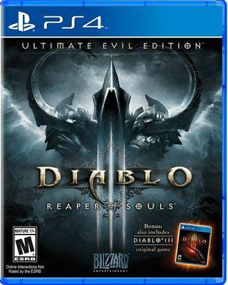PS4 Diablo III Reaper of Souls: Ultimate Evil Edit