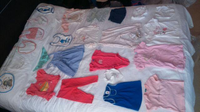 ropa niña 12-18 meses talla 82-86 (lote no 14)