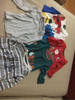 Camiseta bebe 3-6 meses