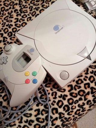 Sega DreamCast PAL + 3 Juegos +DreamKey + VMU