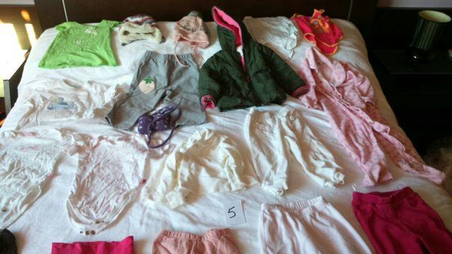 ropa niña 12-18 meses talla 80-92 (lote nr 5)