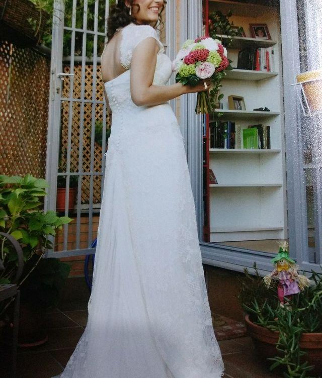vestido de novia josé maría peiro de segunda mano por 750 € en