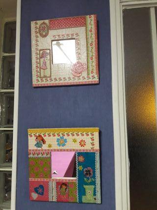 espejos decoración infantil