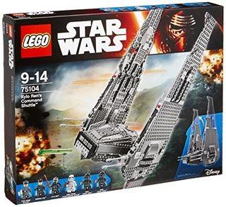 Lego 75104. Nave de Combate de Kylo Ren