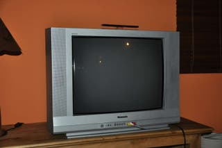 Television 32' marca Panasonic en color plata