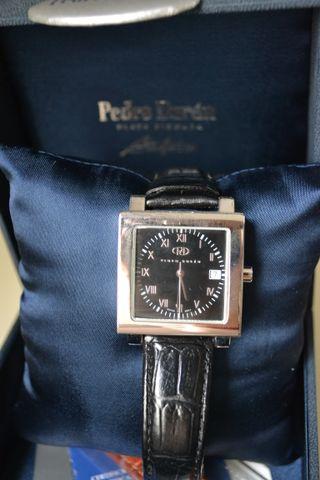 Reloj de pulsera de plata de ley Pedro Durán