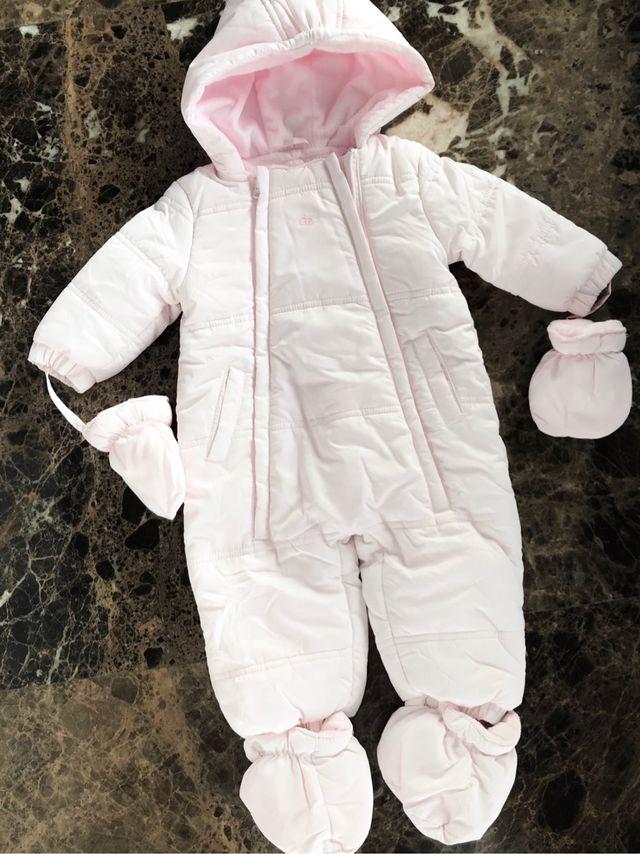 Buzo Mono invierno 3-6 meses